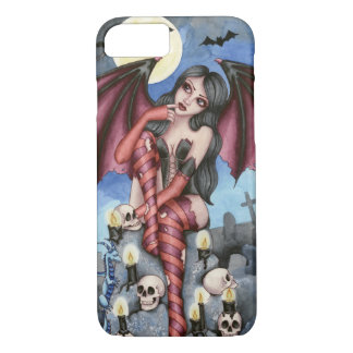 Angelique - Vampir feenhafter iPhone 7 Fall iPhone 8/7 Hülle