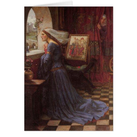 Angemessenes Rosamund - John William Waterhouse Karte
