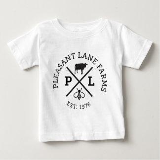 Angenehmer Weg bewirtschaftet Hut Baby T-shirt