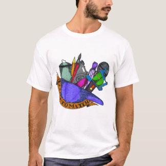 Angepasst Farblogo zusammenbringen T-Shirt