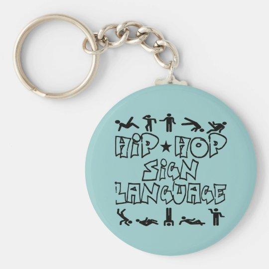 Angesagte Hopfenzeichen Sprache-Keychain Schlüsselanhänger