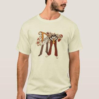 Angesagte Katzen u. psychedelische Küken T-Shirt