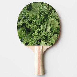 Angesagter hellgrüner veganer Kohl Tischtennis Schläger
