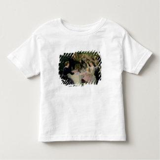 Angesagtes angesagtes Hurrah! Das Party der Kleinkinder T-shirt