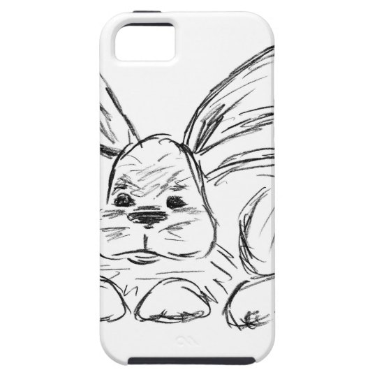 Angesagtes Hopfen, ein Häschen-Kaninchen iPhone 5 Schutzhüllen