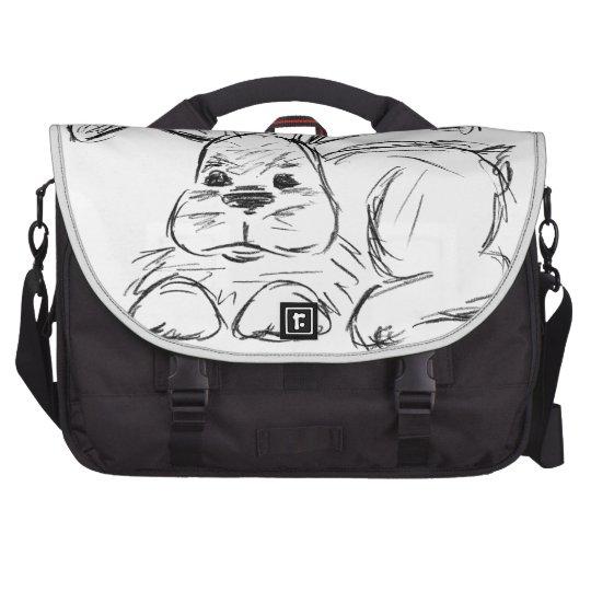 Angesagtes Hopfen, ein Häschen-Kaninchen Laptoptasche