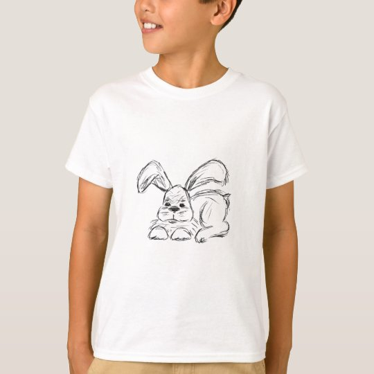 Angesagtes Hopfen, ein Häschen-Kaninchen T-Shirt