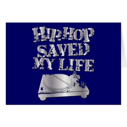 Angesagtes Hopfen rettete mein Leben Grußkarte