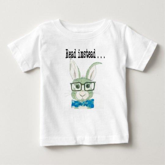 Angesagtes Lesehäschen Baby T-shirt