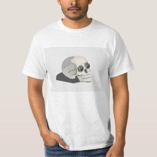 angesagtes Skelett T-Shirt