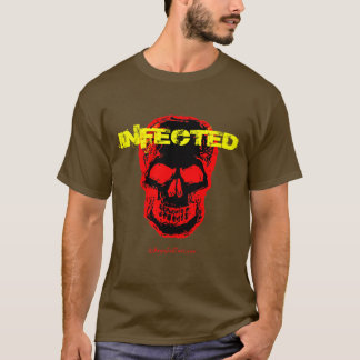 Angesteckter Zombie-T - Shirt
