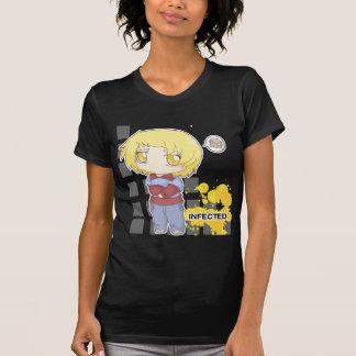 Angestecktes chibi T-Shirt