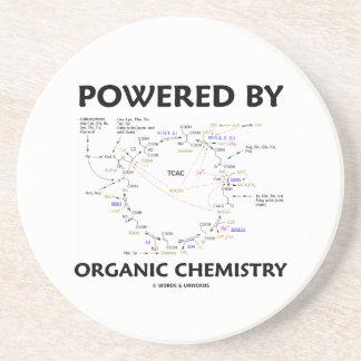 Angetrieben durch Bio Chemie (Krebs Zyklus) Getränkeuntersetzer