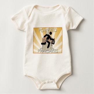 Angetrieben durch Pfannkuchen (hygge Power!) Baby Strampler