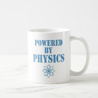 Angetrieben durch Physik Kaffeetasse