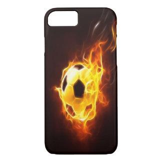 Angezündeter Fußball iPhone 7 Kasten iPhone 7 Hülle