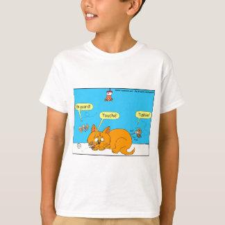 Angriffs-Cartoon mit 293 Kolibris T-Shirt