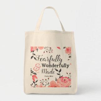 Ängstlich und wunderbar gemachte Taschen-Tasche Tragetasche