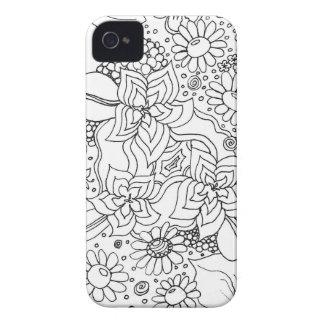 Anhäufung der Blumen iPhone 4 Case-Mate Hüllen