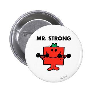 Anhebende Gewichte Herr-Strong | Runder Button 5,1 Cm