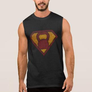 Anhebende Mann-Turnhallenmotivationssuperbehälter Ärmelloses Shirt