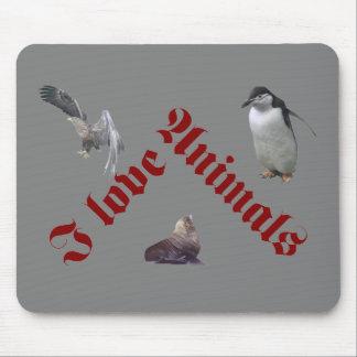 animals rot mauspad