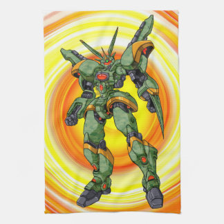 Anime-Camouflage-Roboter Handtuch