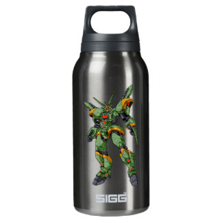 Anime-Camouflage-Roboter Isolierte Flasche
