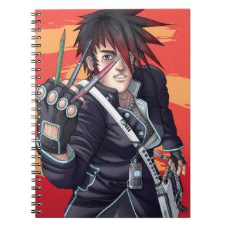 Anime Manga Künstler Notizblock