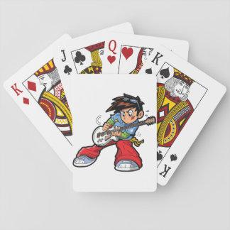 Anime-Rockstar-Spielkarten Spielkarten