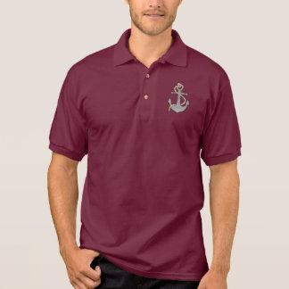 Anker mit Seil Poloshirt