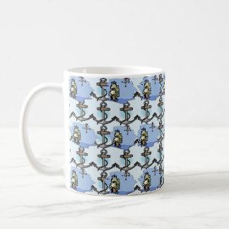 Anker-u. Schiffs-Seemann-Schale Kaffeetasse