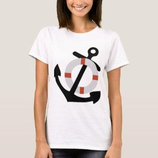 Anker und Lebensretter T-Shirt