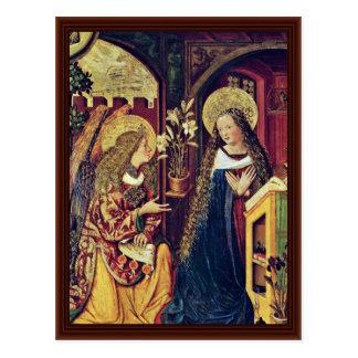 Ankündigung durch Bayerischer Meister Postkarte