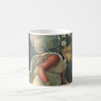 Ankündigung (Engelsdetail) durch Sandro Botticelli Kaffeetasse