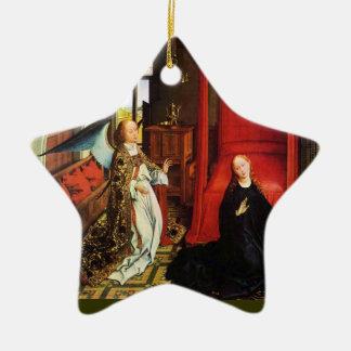 ANKÜNDIGUNGS-ENGEL Erzengel Gabriel, Keramik Ornament