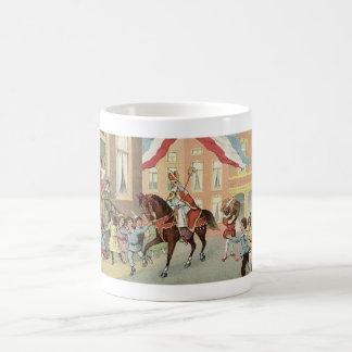 Ankunft Sinterklaas niederländischen St.-Nicks Kaffeetasse