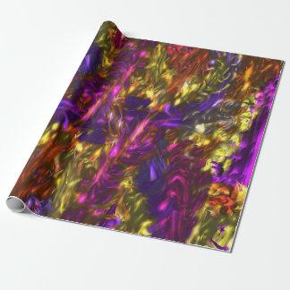 Anlass-abstraktes Verpackungs-Papier Geschenkpapier