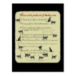 Anmerkungen über die leichte Kunst des In Herden Postkarte