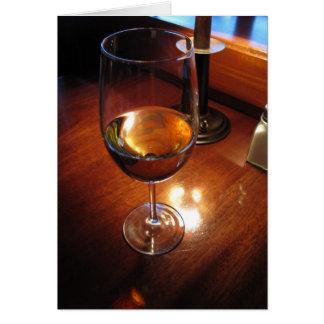 Anmerkungs-Karte Freitags Chardonnay Karte