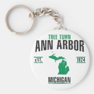 Ann Arbor Schlüsselanhänger