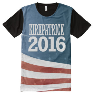 Ann Kirkpatrick 2016 T-Shirt Mit Bedruckbarer Vorderseite