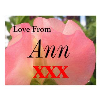 Ann Postkarte