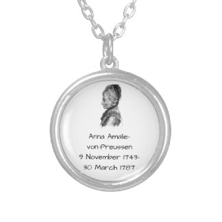 Anna amalie von Preussen Versilberte Kette