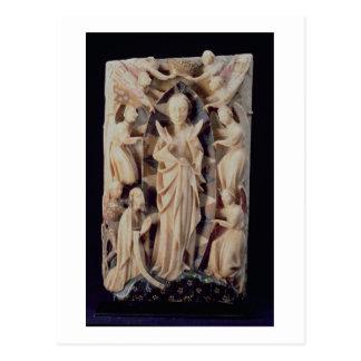 Annahme der Jungfrau (Alabaster) Postkarte