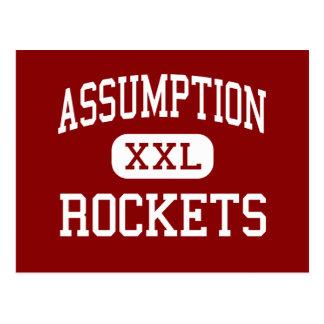 Annahme - Rockets - hoch - Louisville Kentucky Postkarte