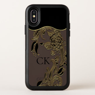 Annarose Sebastian elegantes schickes Blumenx OtterBox Symmetry iPhone X Hülle