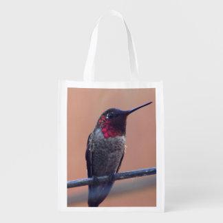 Annas Kolibrilebensmittelgeschäft-Taschentasche Wiederverwendbare Einkaufstasche