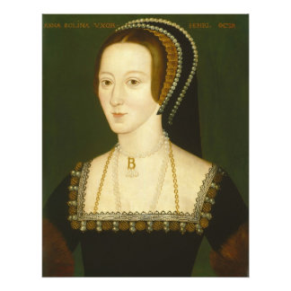 Anne Boleyn Ehefrau an zweiter Stelle von Porträt Kunstphotos
