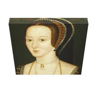 Anne Boleyn - Leinwand-Verpackung Leinwanddruck